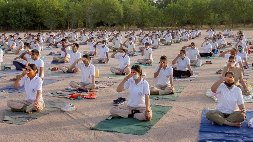 The United Nations General Assembly passed a resolution on December 11, 2014, at the initiative of India, declaring June 21 as the International Day of Yoga.