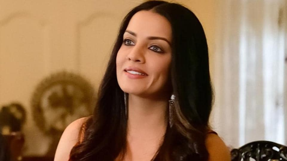Celina Jaitly in a still from Season's Greetings.