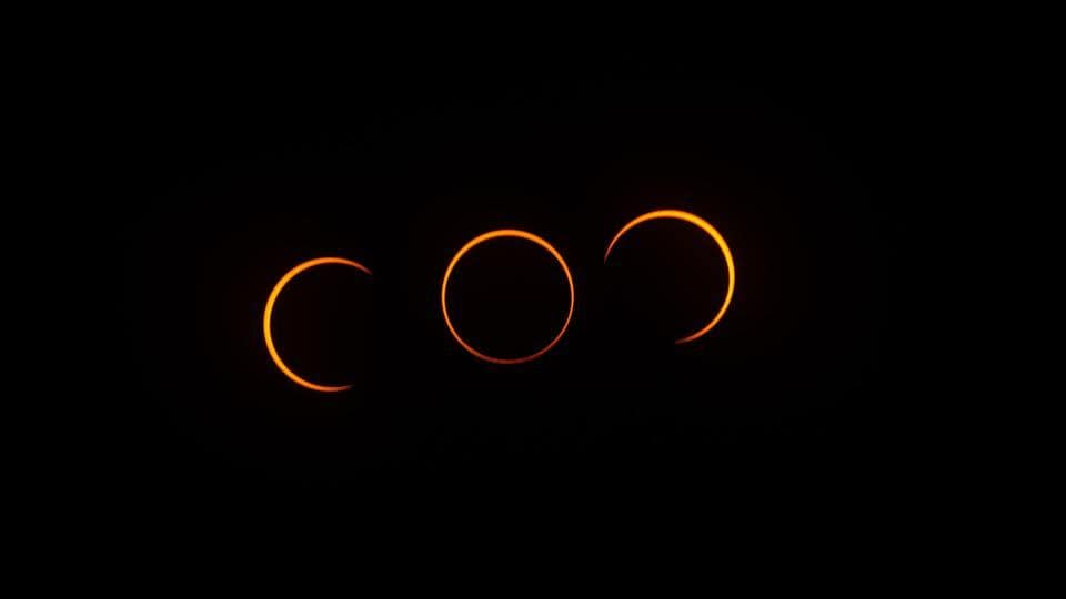 At the peak of the annular eclipse, the Moon will be able to block 99% of the Sun from view, this however, lasts for only a few seconds.  (Representational Image)