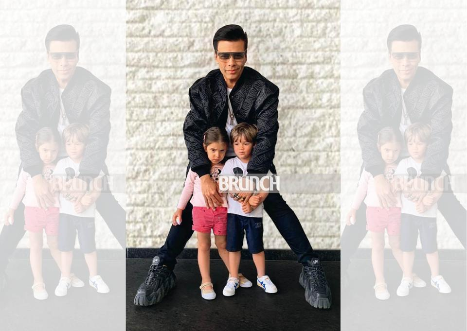 The videos that often see the Karan Johar's kids, Yash and Roohi, hilariously castigating their dad indeed crack the lockdown gloom every morning!