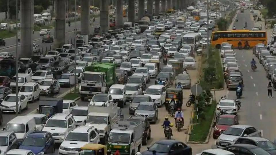 The proposed rules will be called the Central Motor Vehicles (Regulation of Bus Service between India and Neighbouring countries of India (Movement of Vehicles Carrying Goods and Passengers) Rules, 2020. (HT photo)