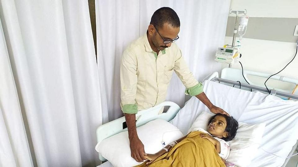 More than 600 donors from India and abroad joined the father's fight to keep his daughter alive in a powerful display of humanity during the pandemic.
