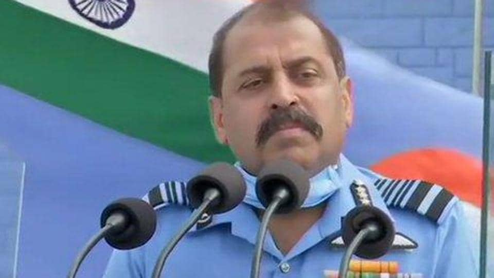 Air Force chief RKS Bhadauria said the force was capable of handling the situation in high altitude regions, but for tactical reasons it cannot disclose where and how the deployments would be made. (ANI photo)
