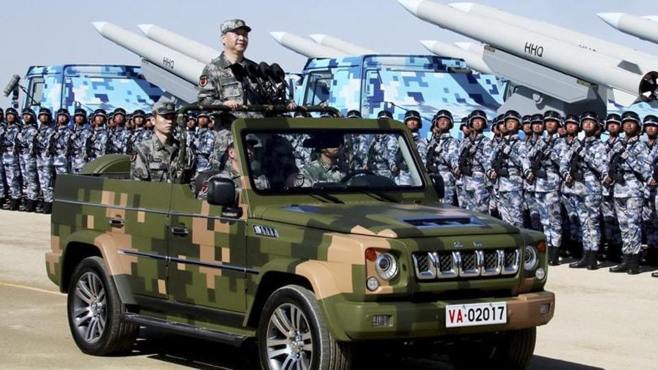 President Xi Jinping's China first claims ownership over a neighbour's territory to rationalise its aggression (Xinhua via AP)