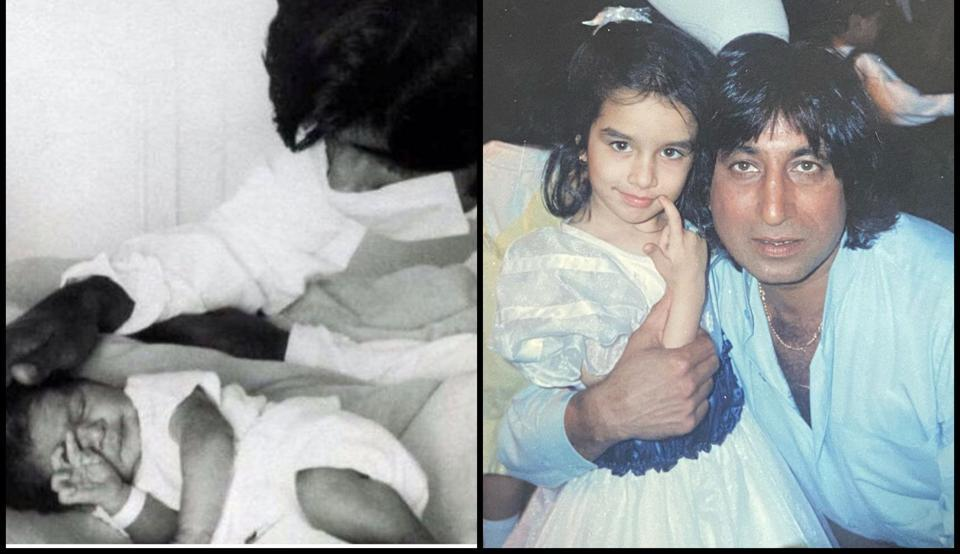 Bollywood stars wished their fathers with social media posts.