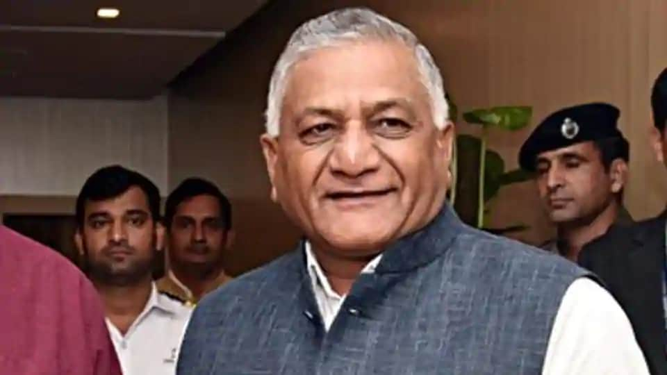 Photo of 'Let's damage them economically': Normal VK Singh on India-China border row – india information