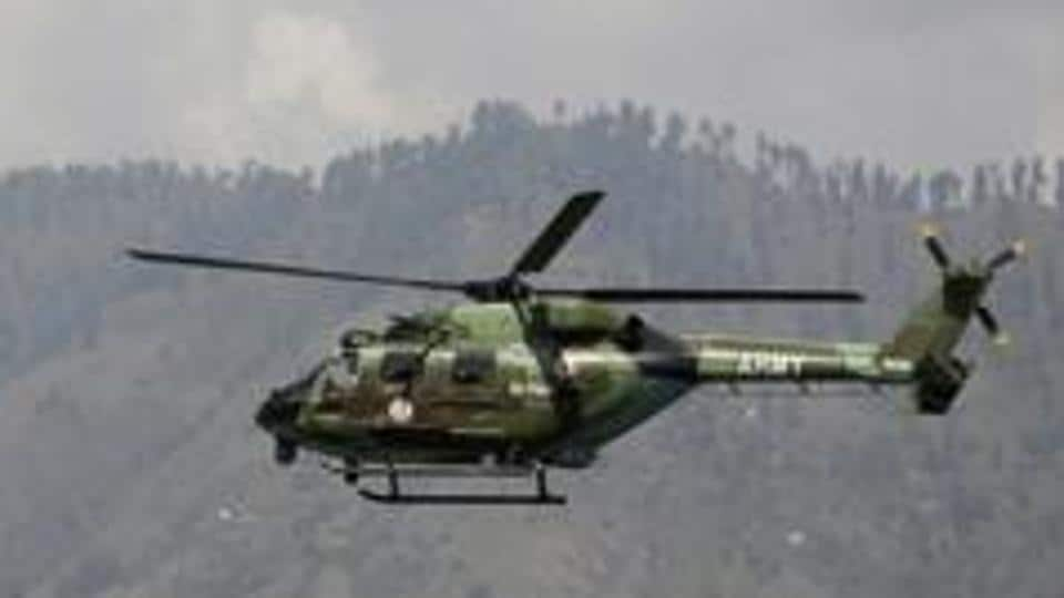 The landing was done after the pilot felt that there may be some issue in the chopper and took precautions to land.