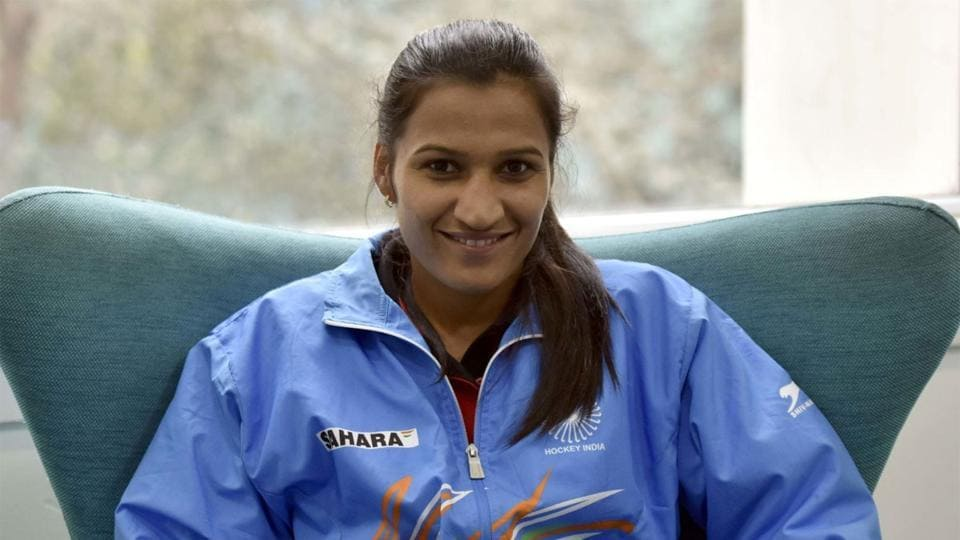Captain of India's women's hockey team Rani Rampal was eager to meet her family.