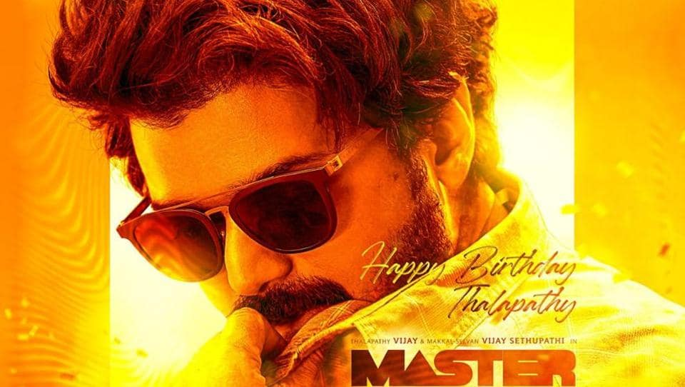 A new poster of Vijay starrer Master was released on Monday.