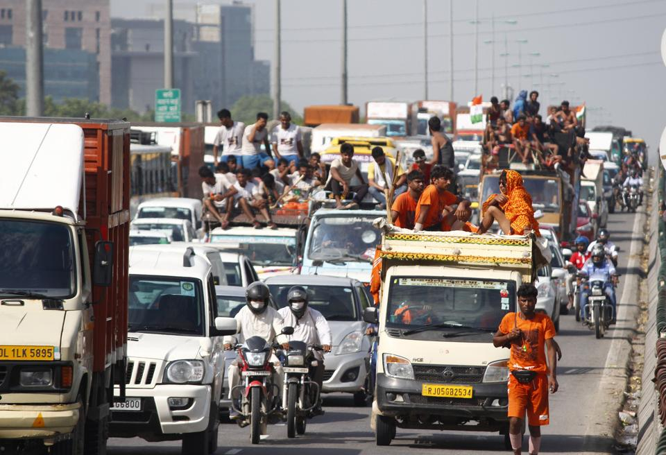Organisers supported the decision and said that camp organisers were worried about the safety of devotees.