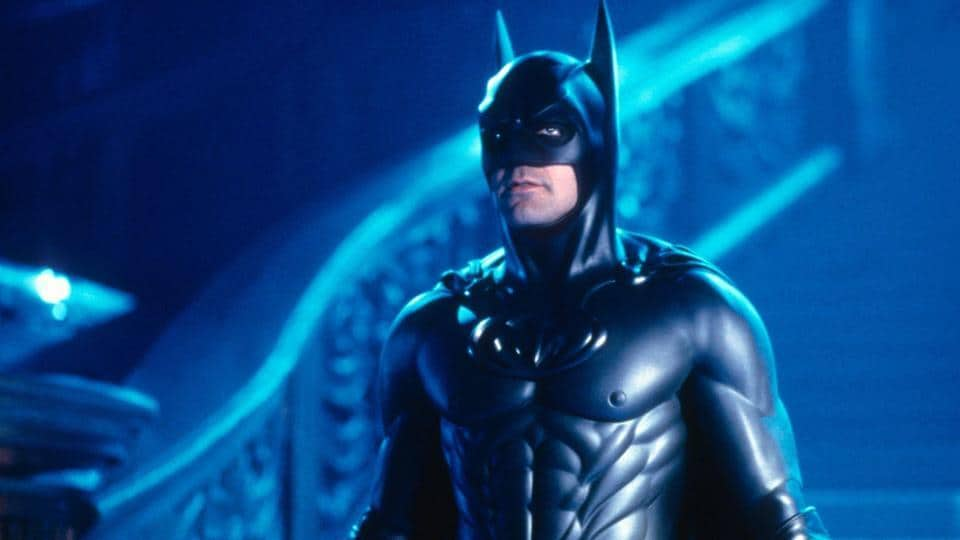 George Clooney as Batman.