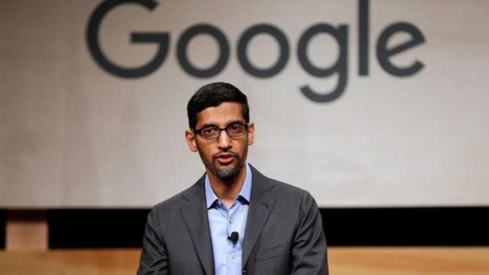 Google CEO Sundar Pichai expressed his disappointment with the move to temporarily suspend foreign work visas in US.