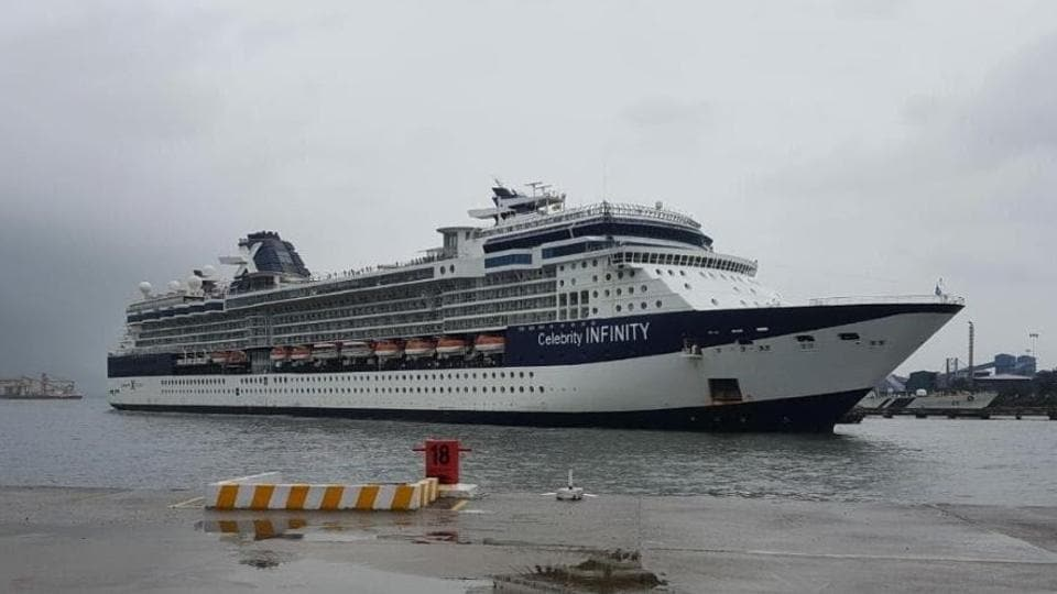 Goa was expecting in excess of 50 cruise ship arrivals, but only 38 arrived before the season was cut short.  (HT photo)