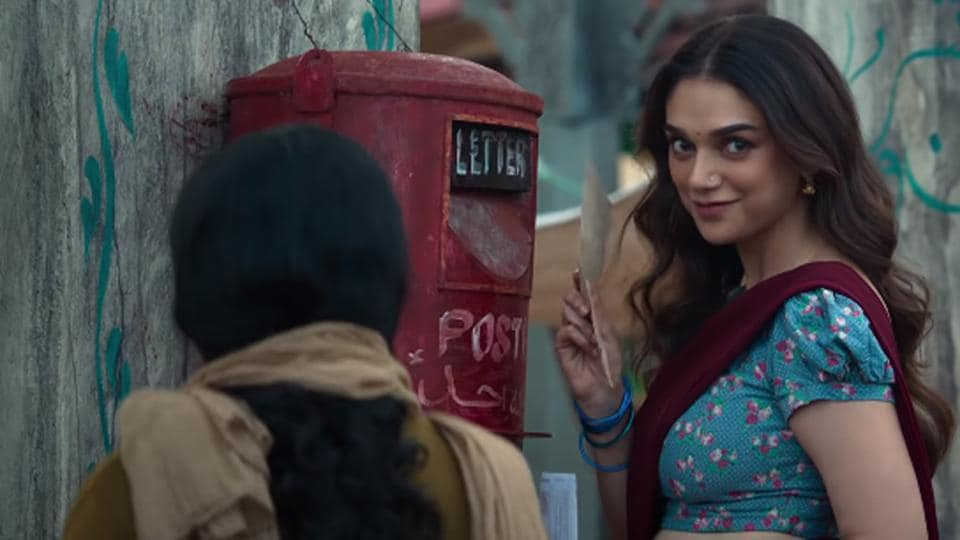 Aditi Rao Hydari in a still from Sufiyum Sujatayum.