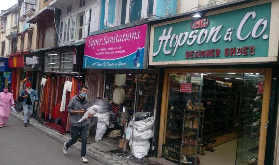 Shimla's iconic Hopson &Co shoe shop on Mall Road is famous for its handmade Chinese shoes.