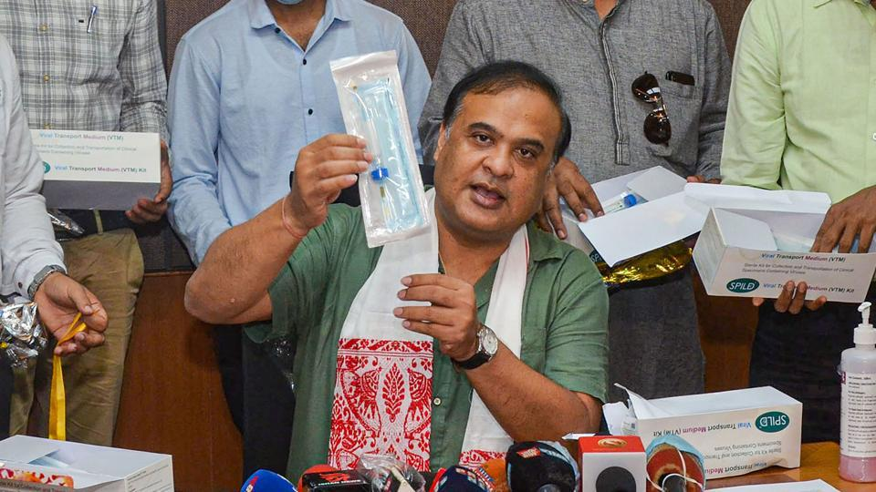 Before four the 4 NPP MLAs  flew out, Assam health minister Himanta Biswa Sarma said they will try to resolve the issue.