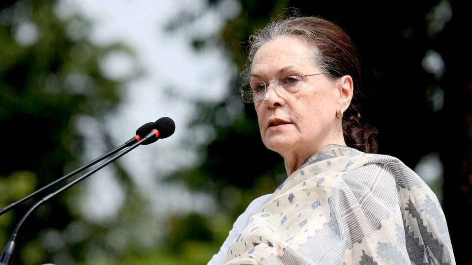 """Sonia Gandhi said the government should give full support and strength to the Army, saying """"this will be true patriotism""""."""