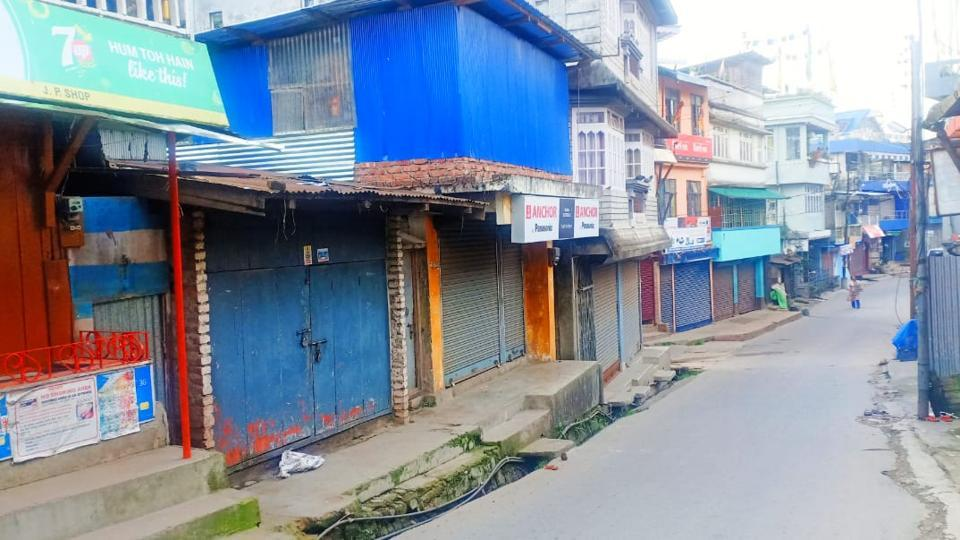 The shutdown in Mirik comes days after traders in Siliguri town in the plains decided to suspend business at Bidhan Market, Hong Kong Market and the local jewellery market.