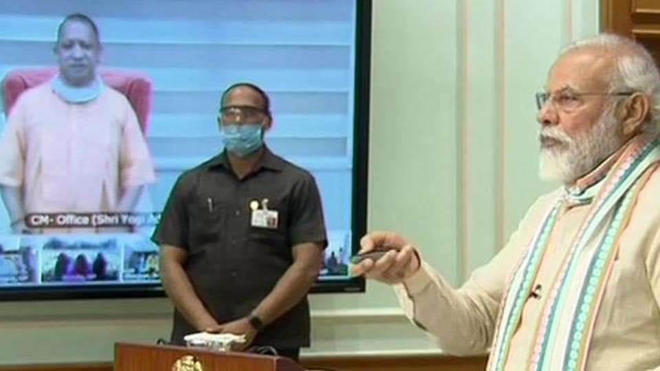 PM Modi launches Atma Nirbhar UP Rojgar Abhiyan, a 125-day campaign to provide employment to 1.25 crore migrant workers