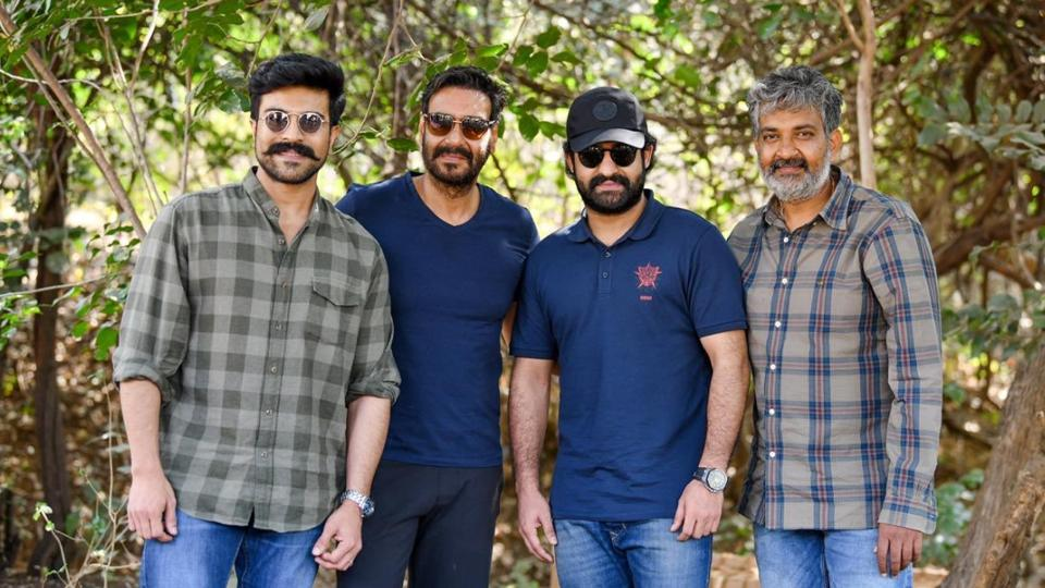 Ajay Devgn plays mentor of Jr NTR, Ram Charan in SS Rajamouli's RRR