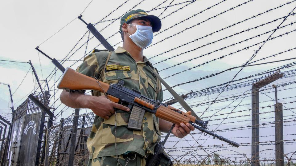The Pakistan national was held while trying to enter Indian territory from Pillar Number 1082 in the Rann of Kutch, a BSF release said.