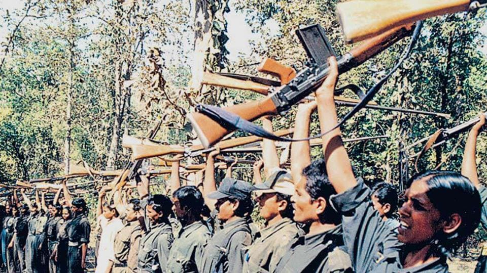 The meeting was part of three-day programme held by the Maoists in Chhattisgarh,