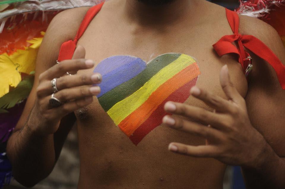 That beating heart:At the Kolkata Rainbow Pride Walk on December 10, 2017.