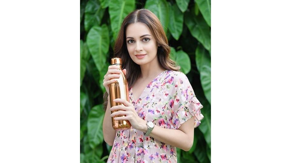 Actor Dia Mirza has been vocal about sustainable alternatives to single-use plastic.