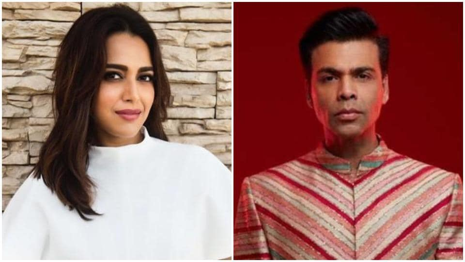 Swara Bhasker had recently called out trolls for blaming Karan Johar for Sushant Singh Rajput's suicide.