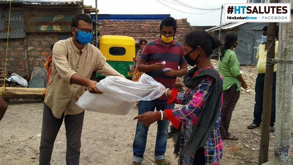 The initiative, which had raised Rs 12 lakh by the time the cyclone hit West Bengal on May 20, put out a fresh call for help and the money began to pour in even faster.