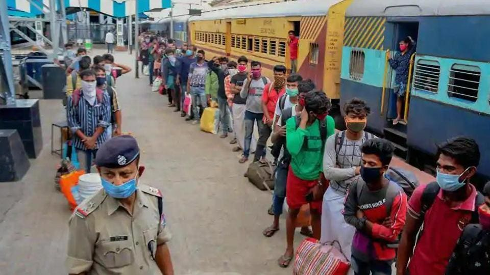 The Railways had clarified that deaths had occurred due to pre-existing ailments and that the ministry is yet to collate the final list of deaths on board Shramik trains. (PTI photo)