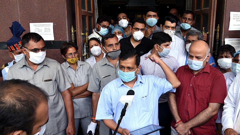 Delhi chief minister Arvind Kejriwal said Initially, people had trouble getting beds which in turn increased the number of deaths.