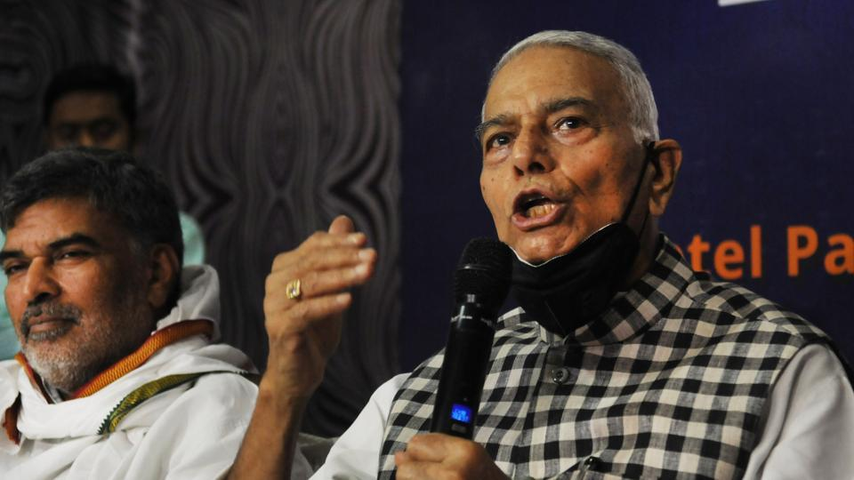 Photo of Yashwant Sinha throws hat into electoral battle to 'change Bihar' – india information
