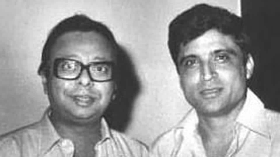 Javed Akhtar with RDBurman.