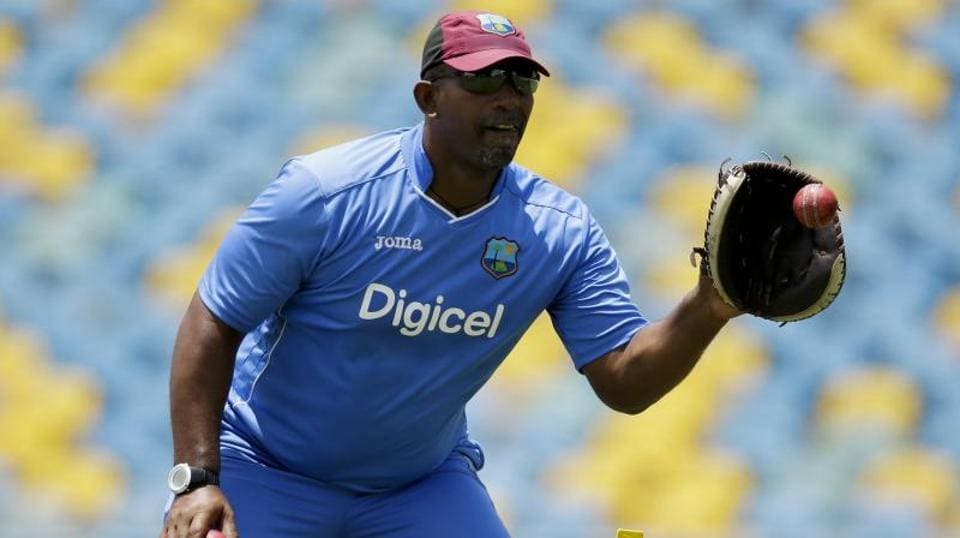West Indies coach PhilSimmons.