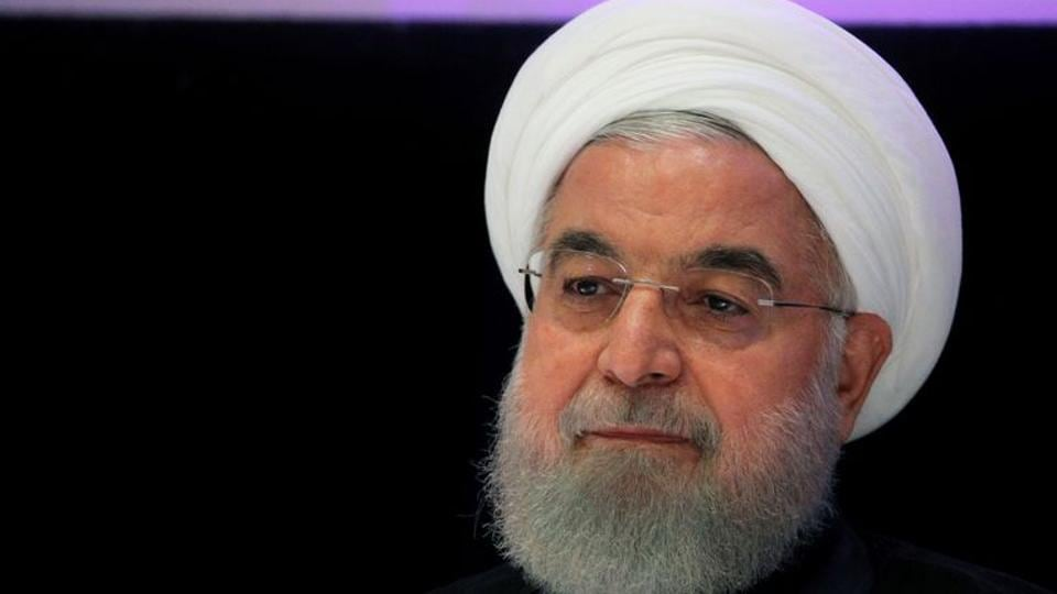 """Iranian President Hassan Rouhani said wearing of masks will become mandatory for two weeks starting next Sunday in """"gathering places"""" that are deemed """"red spots""""."""
