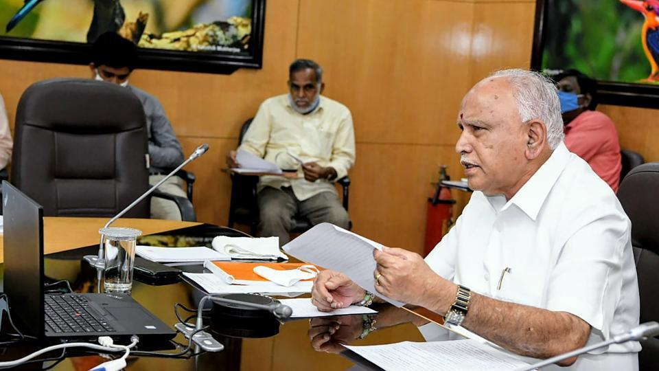 Karnataka CM BS Yeddyurappa took part in the launch of improving economic dynamism and accelerating MSME growth report by game national task force.