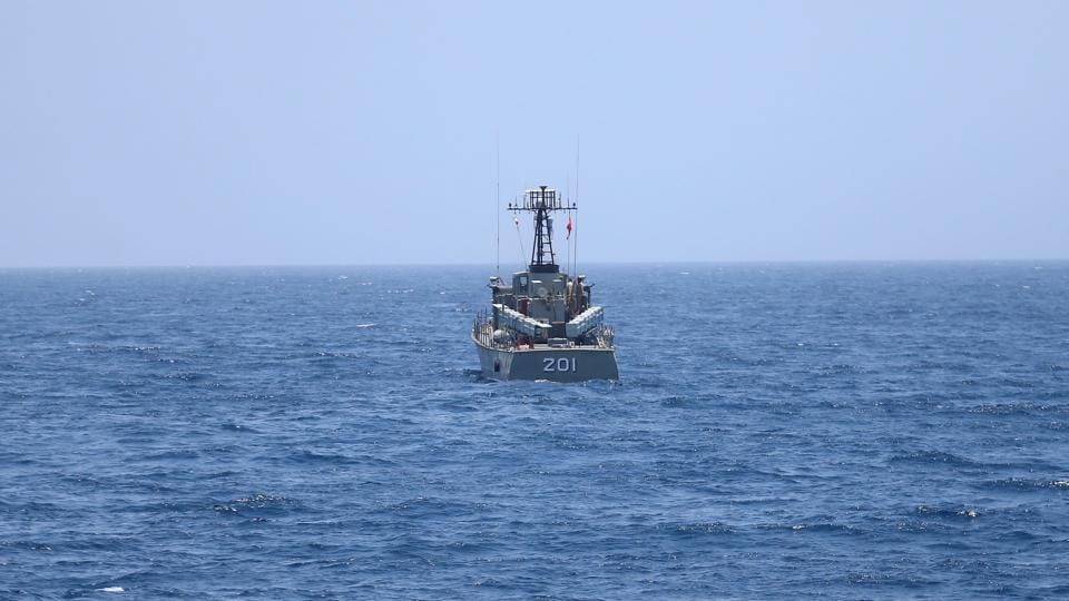 Border guards fired warning shots, which forced the vessels to retreat, the spokesperson said, adding that no violations would be tolerated in the country's territorial waters, as reported by the agency.