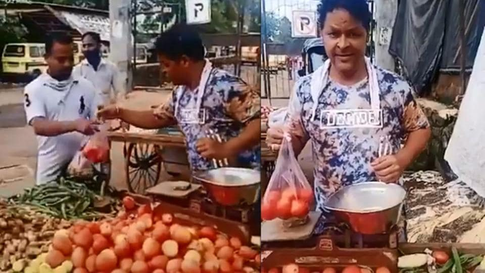 Actor Javed Hyder is forced to sell vegetables to sustain him.