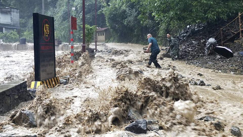 Seasonal flooding hits much of China each year, and authorities have sought to mitigate the damage through the use of dams, particularly the massive Three Gorges structure on the Yangtze.