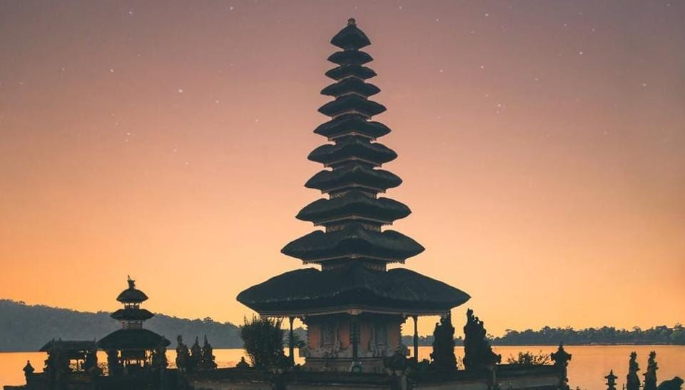 A temple in Bali, Indonesia.
