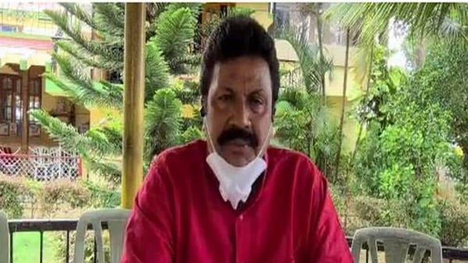 Karnataka Agriculture Minister BC Patil  said that Covid-19 has reached Hirekerur constituency.He urged people to maintain social distancing and wear masks.