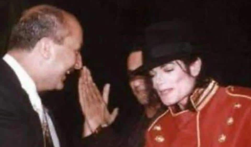 Anupam Kher met Michael Jackson during the latter's visit to India in 1996.