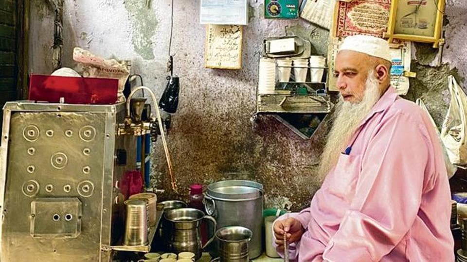 Chacha Chaiwale's, or tea man uncle's, establishment in Old Delhi is one of these dreamlands.