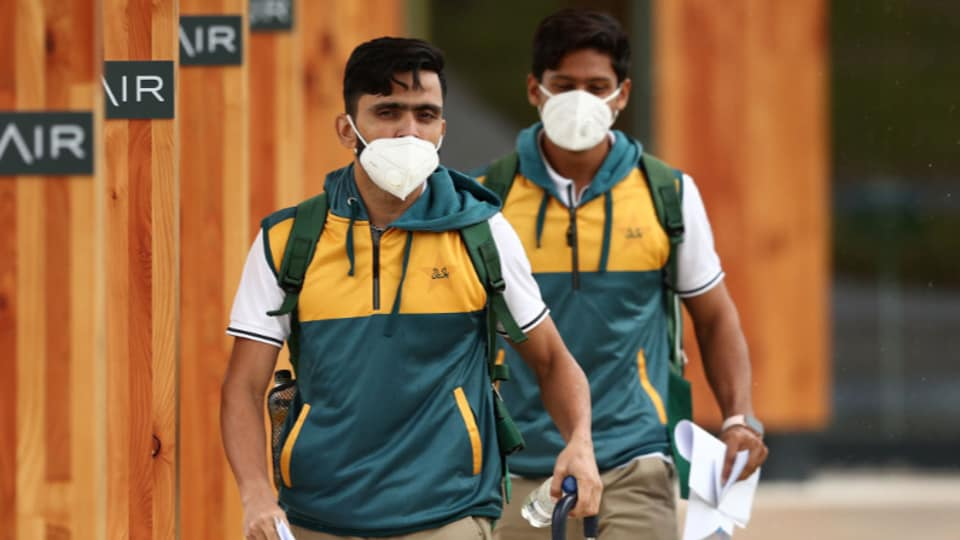 Pakistan cricket players.