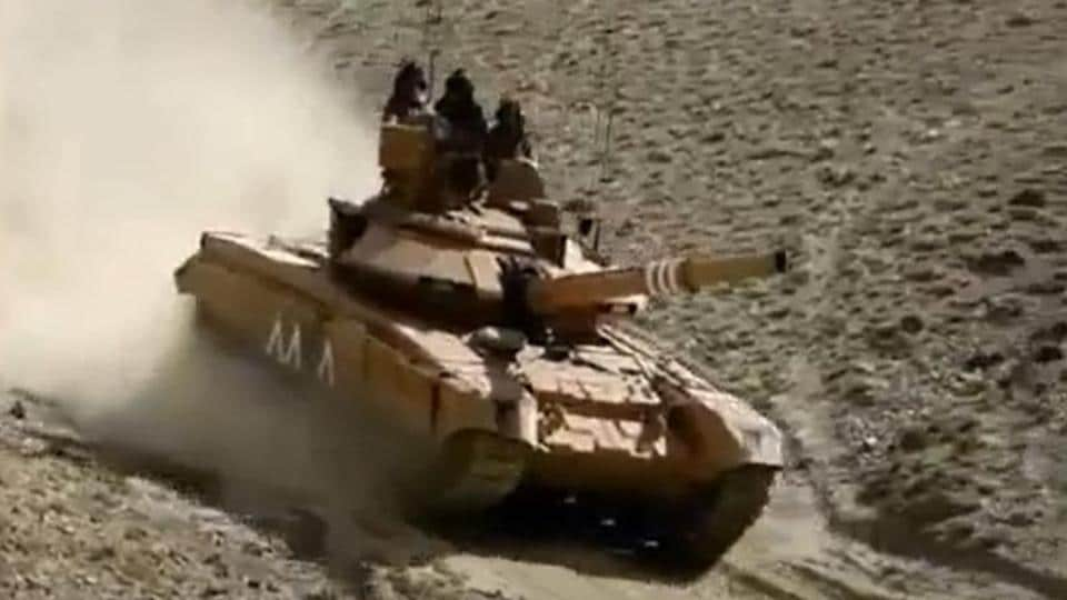 India deploys T-90 tanks in Galwan Valley after China's aggressive posturing at LAC - Hindustan Times