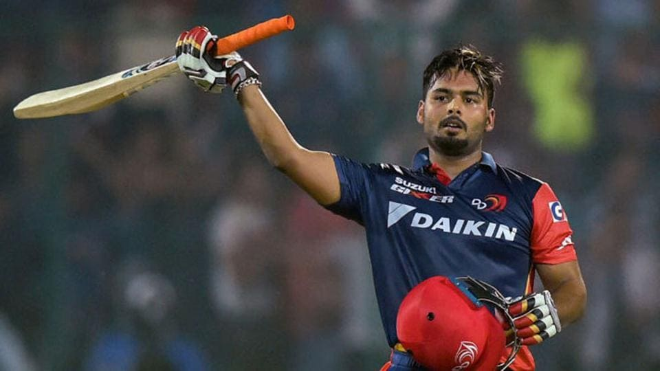 Rishabh Pant smoked 15 fours and seven sixes in his innings.