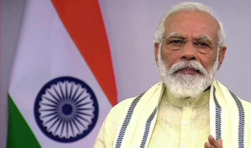 Tuesday's address was Prime Minister Narendra Modi's sixth address to the nation.