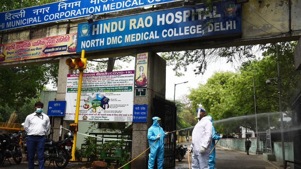 Mayor Jai Prakash said the Hindu Rao Hospital has started functioning as a Covid-19 dedicated hospital.