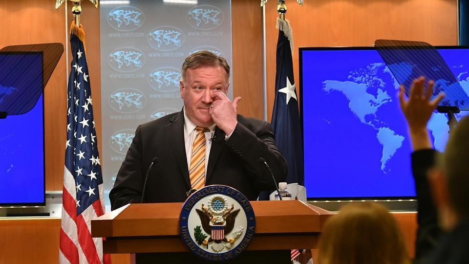 Pompeo calls Taliban leader amid Russian bounty scandal